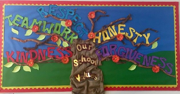 Calendar Ideas Primary : Our values at tattershall primary school